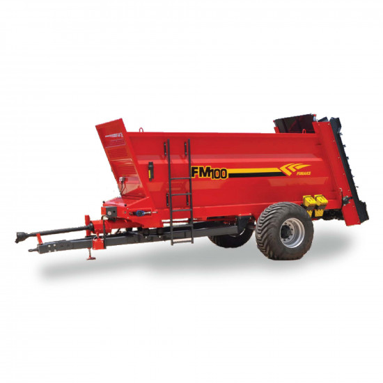 10 Ton Vertical Spinners Manure Spreader