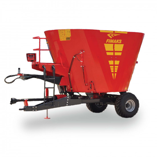 2,5m* Vertical Feed Mixer With Scale (Trailed)