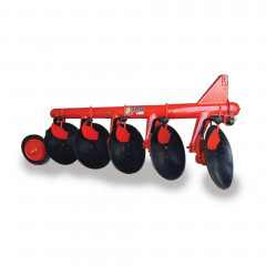 5 Furrow Disc Plough