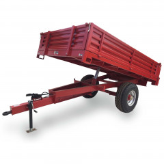 5 Ton Drop Side, Tipper Trailer (3,0m X 2,0m)