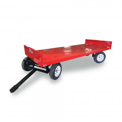 3,0m Twin Turntable Crate Cart (1,45m Wide)