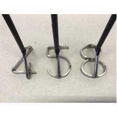 Branding Iron 0-8 Number (9 set)