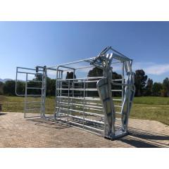 Cattle Veterinarian Working Station - Galvanised