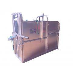 Calf Dehorning Crate - Galvanised