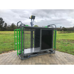 Sheep Weigh Crate (Standard) - Spray Painted