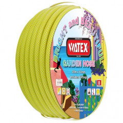 Watex 8 Year Garden Hose Pipe - Light Green- 12mm x 20m With Fittings