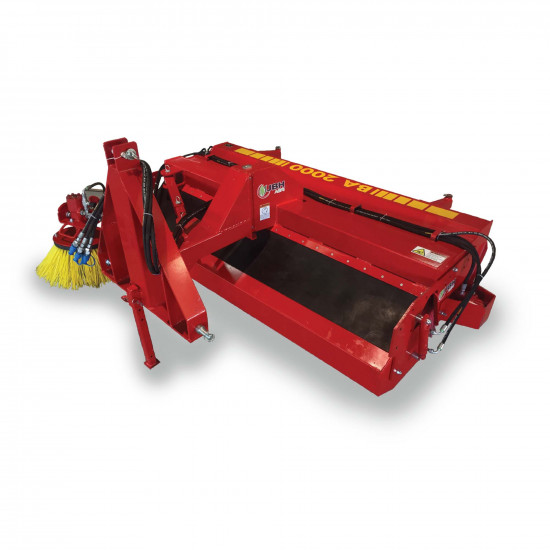 2,5m Road Sweeper With Collection Bucket