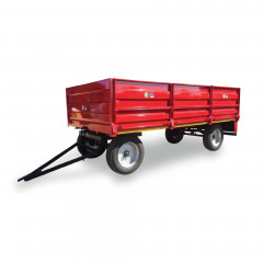 8 Ton Drop Side Trailer (5,4m X 2,3m X 0,45m)