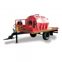 2500L Fire Fighter Trailer H/Speed Double Axle