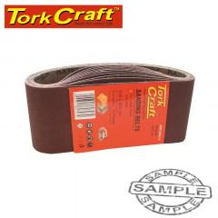 SANDING BELT 60 X 400MM 60 GRIT 10/PACK (FOR TRITON PALM SANDER)