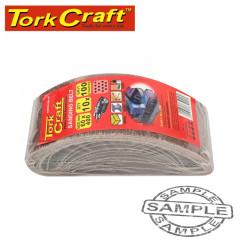 SANDING BELT 60 X 400MM 100GRIT 10/PACK (FOR TRITON PALM SANDER)