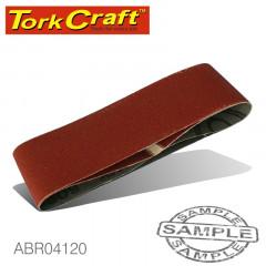SANDING BELT 64 X 406MM 120GRIT 2/PACK