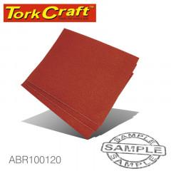 CABINET PAPER 230 X 280 120 GRIT 50 PER PACK STD