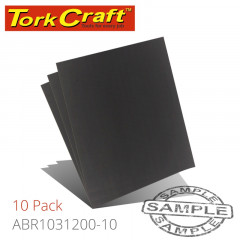 WATER PAPER 230 X 280MM 1200 GRITWET & DRY 10 PER PACK STD