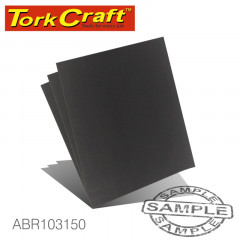 WATER PAPER 230 X 280MM 150 GRIT WET & DRY 50 PER PACK STD