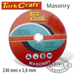 CUTTING DISC MASONRY 230 X 2.0 X 22.22MM