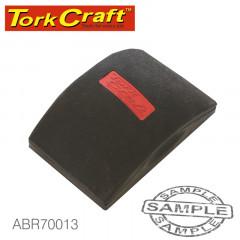 SANDING BLOCK ERGONOMIC 140 X 90 FOR HAND USE BLACK