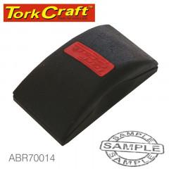 SANDING BLOCK ERGONOMIC 122 X 66 FOR HAND USE BLACK