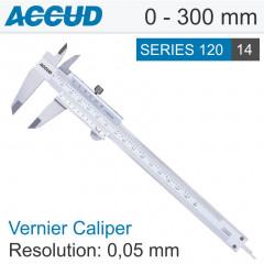 VERNIER CALIPER 0-300MM 0.05MM RES.
