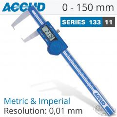 DIGITAL OUTSIDE NECK CALIPER 0-150MM/0-6'