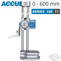 DIAL HEIGHT GAUGE 0-600MM/0-24'