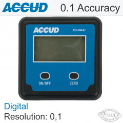 DIGITAL LEVEL AND PROTRACTOR 0 - 180