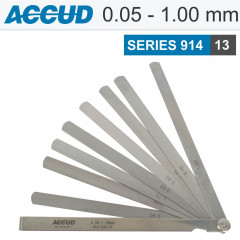 LONG FEELER GAUGE LENGTH 200MM 0.05-1.00MM