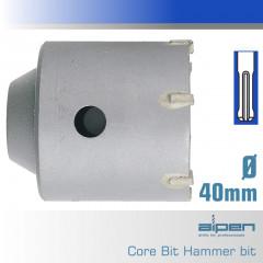 CORE HAMMER BIT TCT 40MM