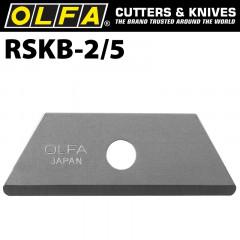 OLFA BLADES FOR SK6 UTC1 5/PK 17.5MM ROUNDED TIP BLADE SK4