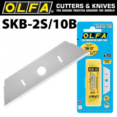 OLFA BLADE SKB-2S 10 PACK STAINLESS STEEL FOR SK-12 SK-4 SK-5 SK-9 UTC