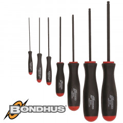 BALL END SCR-DRIVER 7PC SET 1.27-5MM POUCHED