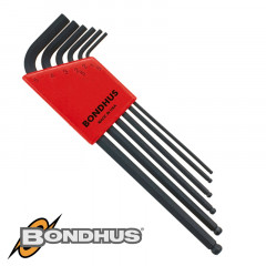 BALL END L-WRENCH 6PC SET 1.5-5MM PROGUARD FINISH