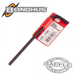 HEX END L-WRENCH 4.0MM PROGUARD SINGLE BONDHUS