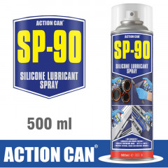 SP-90 500ML SILICONE LUBE SPRAY