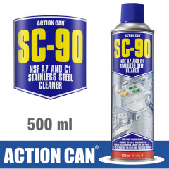 SC-90 500ML STAINLESS STEEL CLEANER