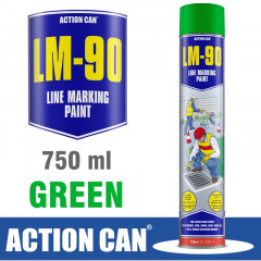 LM-90 GREEN 750ML LINE MARKING PAINT
