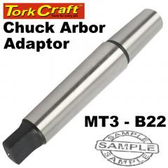 CHUCK ARBOR ADAPTOR MT3 - B22