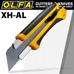 OLFA EXTRA HEAVY DUTY  CUTTER WITH BLACK 25MM HBB BLADE