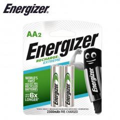 ENERGIZER RECHARGE 2300MAH  AA - 2 PACK (MOQ6)