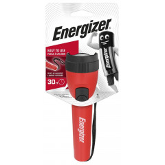 ENERGIZER TORCH RED SMALL 2AA (MOQ 12)
