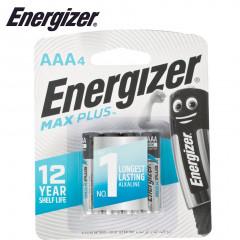 ENERGIZER MAXPLUS AAA - 4 PACK (MOQ12)