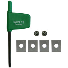 FESTOOL REPLACEMENT BLADE FOR CUTTER HW-WP 7,6X12X1,5 (4X) 491390