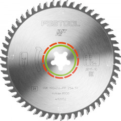 FESTOOL SPECIAL SAW BLADE 190X2,6 FF TF54 492052