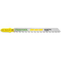 FESTOOL JIGSAW BLADE HS 75/2,5 BI R/5 493570