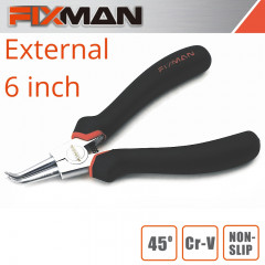 FIXMAN EXTERNAL CIRCLIP PLIERS 6'/145MM X 45 DEG