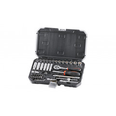 FIXMAN SOCKET DRIVE SET 42PC  X 1/4'