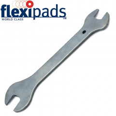 FLAT SPANNER 14 X 17MM SILVER