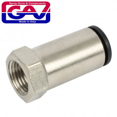 CONNECTOR 6MM X 1/8' F FOR NYLON TUBING
