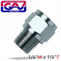 TAPER REDUCER BUSH 1/4 X 1/4 M/F