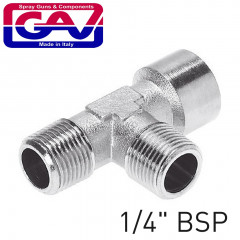 T CONNECTOR 1/4' MMF